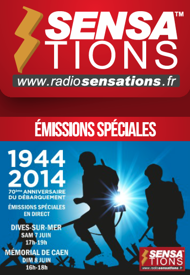 Radio Sensations en direct du Débarquement