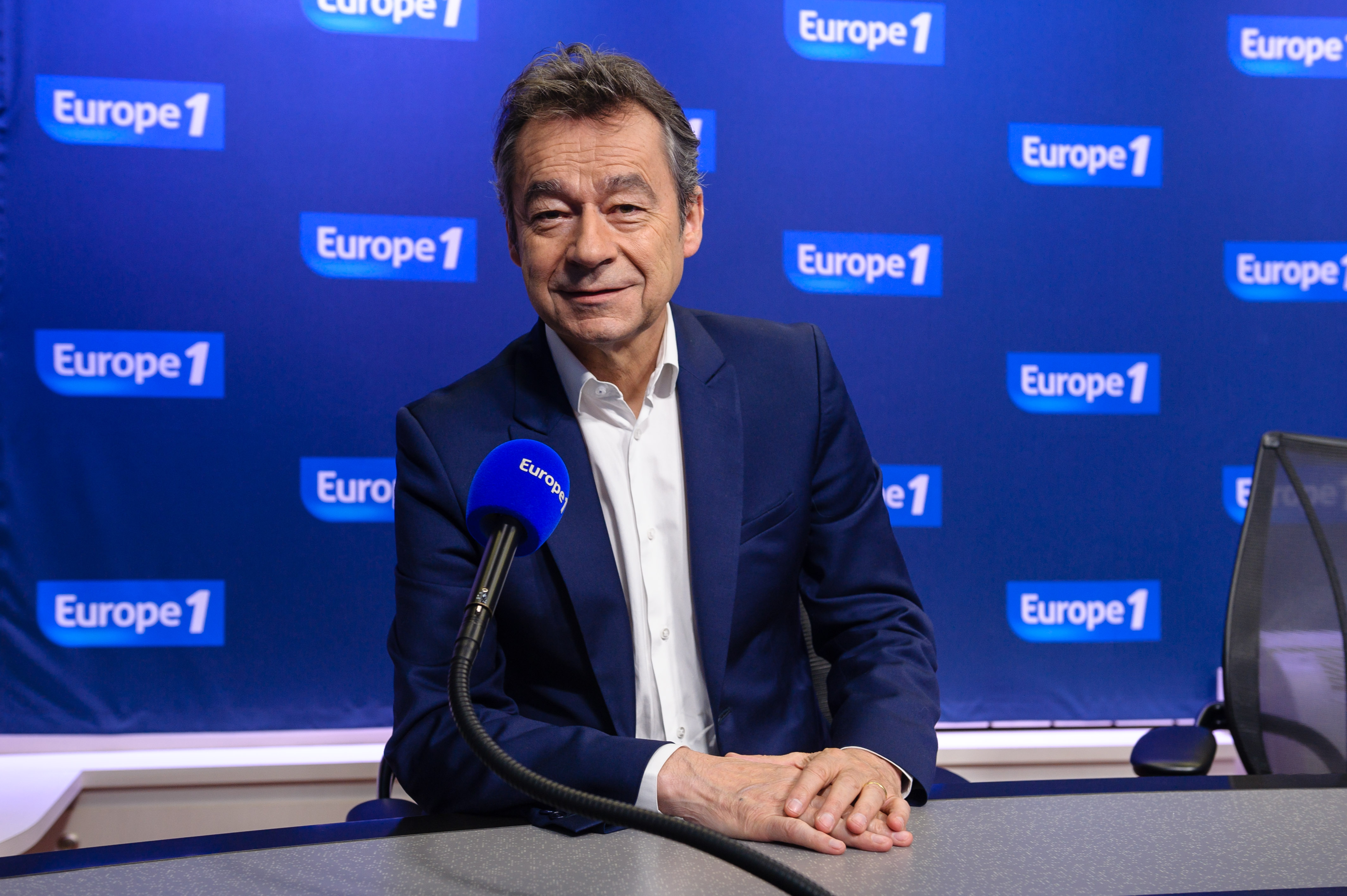 Michel Denisot rejoint Europe 1, le temps de la Coupe du monde  © C. Petit-Tesson / Capa Pictures / Europe 1