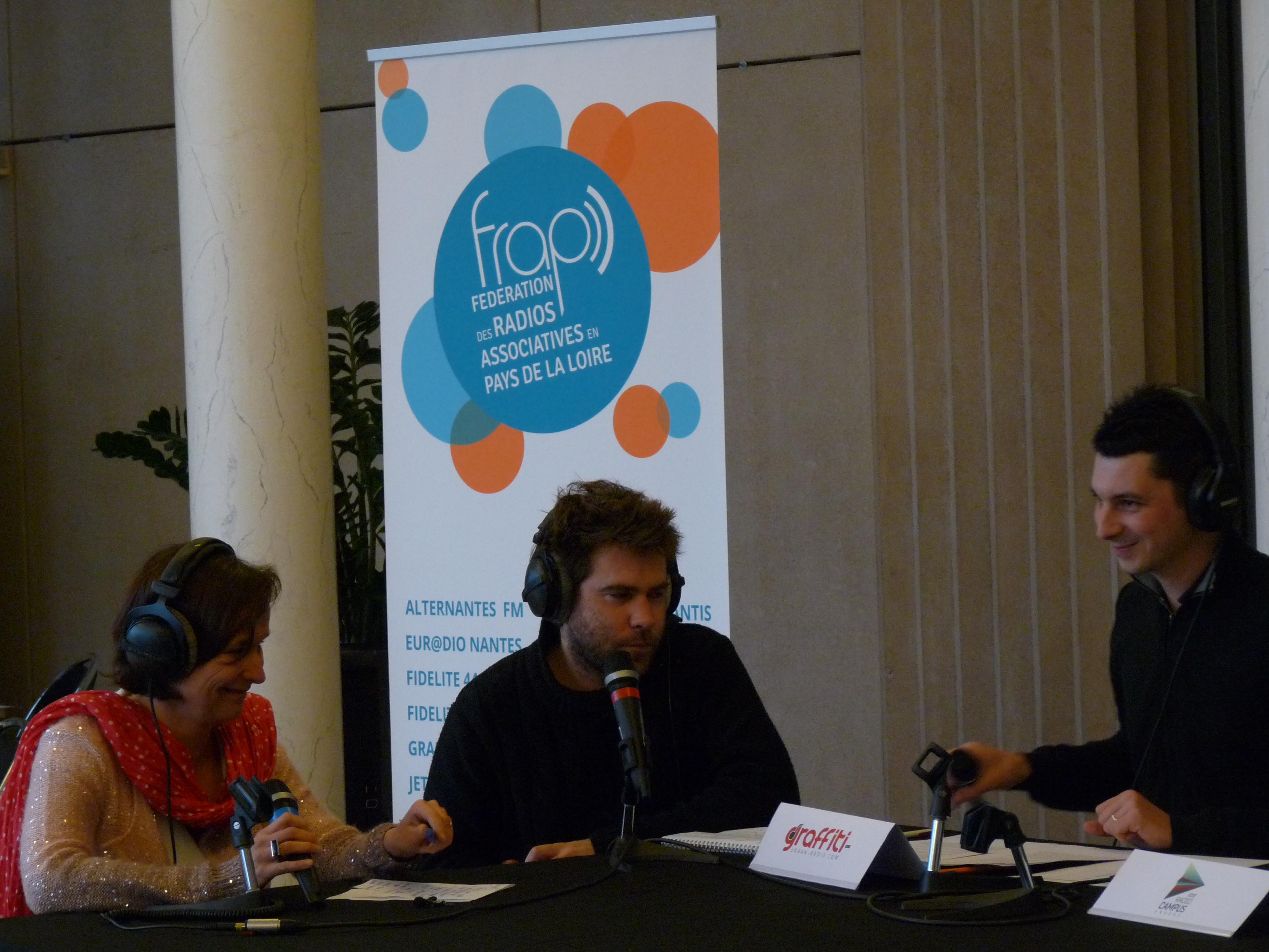 La précédente émission collaborative de la FRAP, le 7 février dernier, à l'occasion des Rencontres de la CPCA à l'Hôtel de Région de Nantes