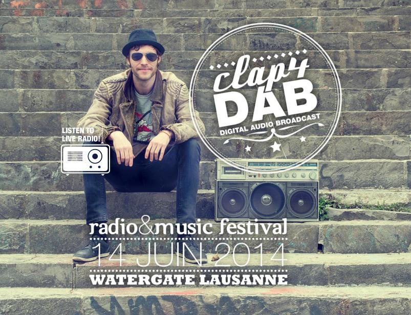 Clap4DAB : le festival pour fêter la RNT en Suisse