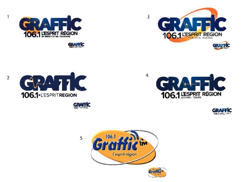 Les auditeurs choisissent le logo de Graffic