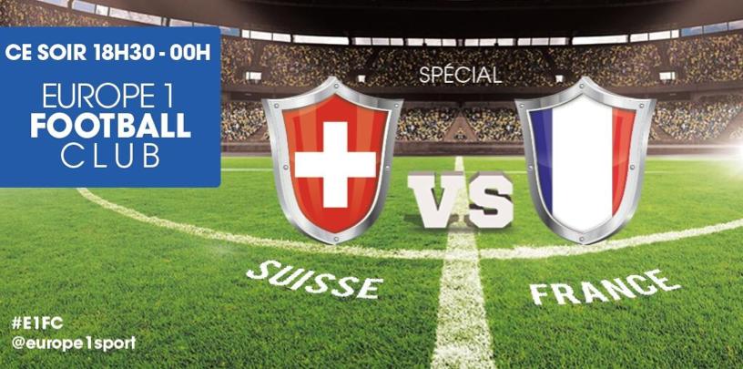 L'émission sera également diffusée en direct vidéo sur Europe1.fr et pourra être commentée sur les réseaux sociaux via le hashtag #E1FC