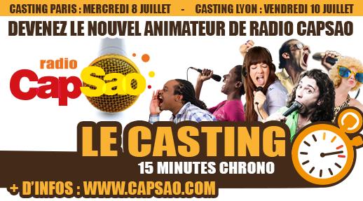 Capsao lance un grand casting d'animateurs !