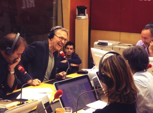 Laurent Ruquier ce matin sur RTL. Y aurait-il déjà trouvé ses marques ?