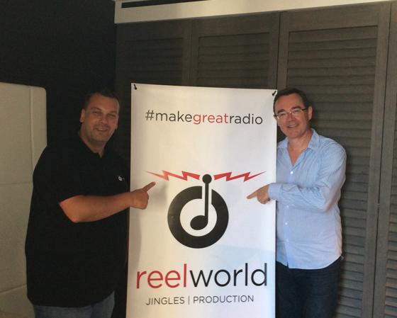David Tartar et Frédéric Courtine hier à Marseille à la Convention des Indés Radios