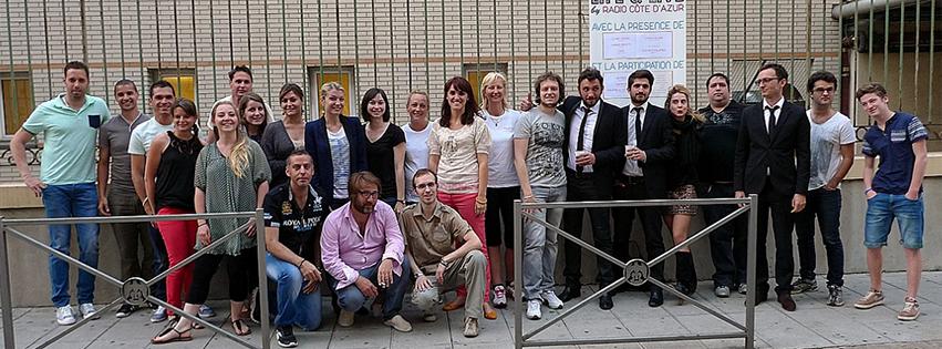 Radio Côte d'Azur et ses 24 bénévoles