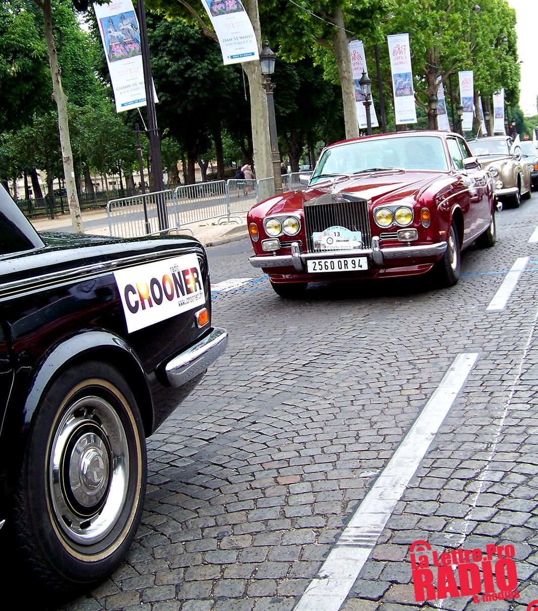 RNT : Crooner sur les Champs Elysées