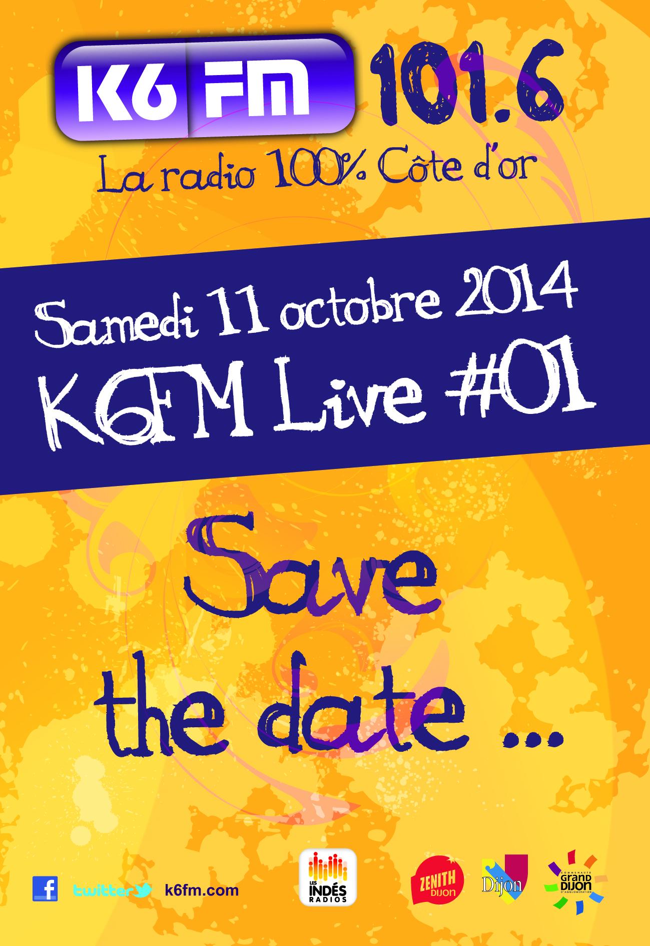 K6FM organisera le K6FM Live