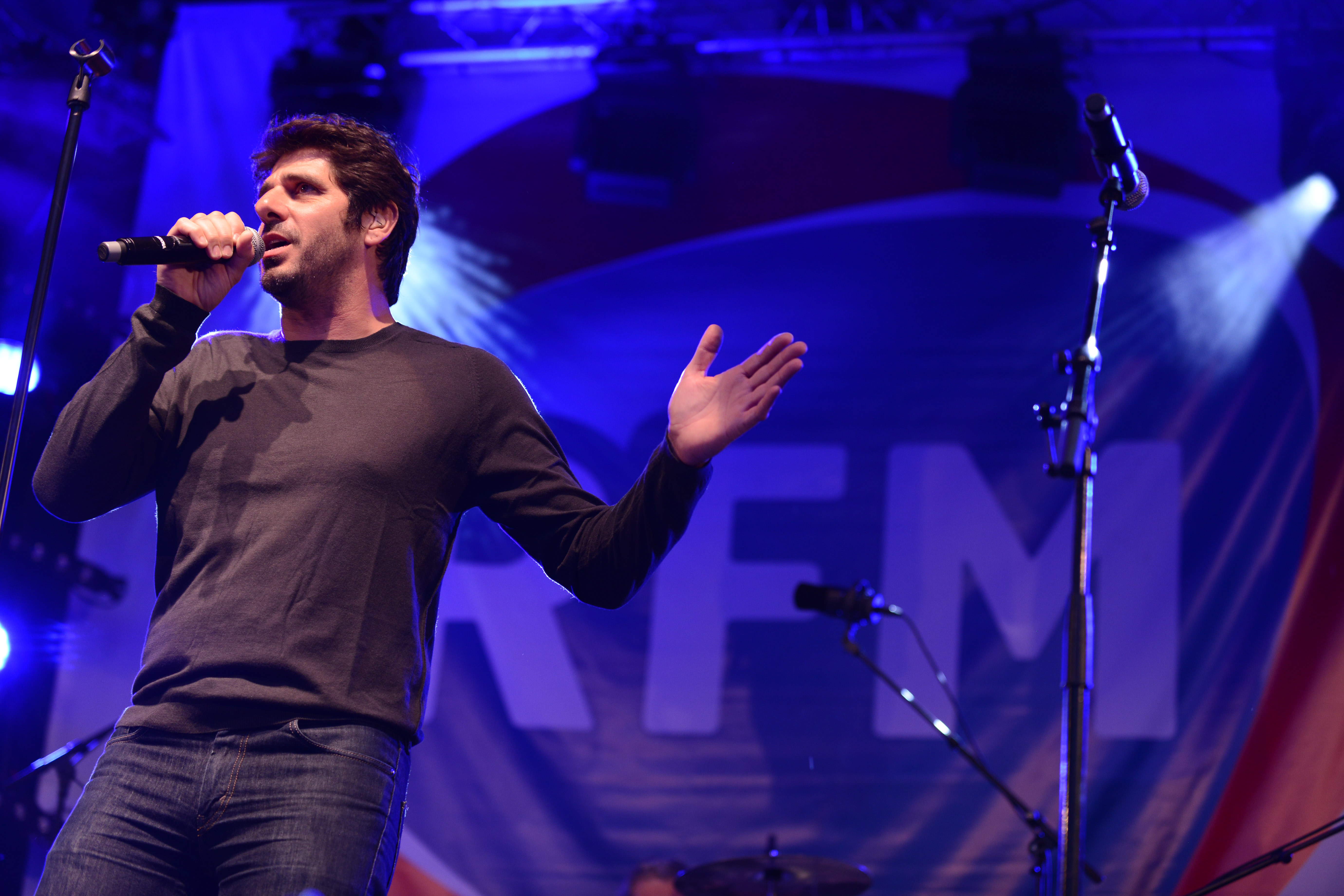 Patrick Fiori sur la scène du RFM Summer Live  ® Vision by AG