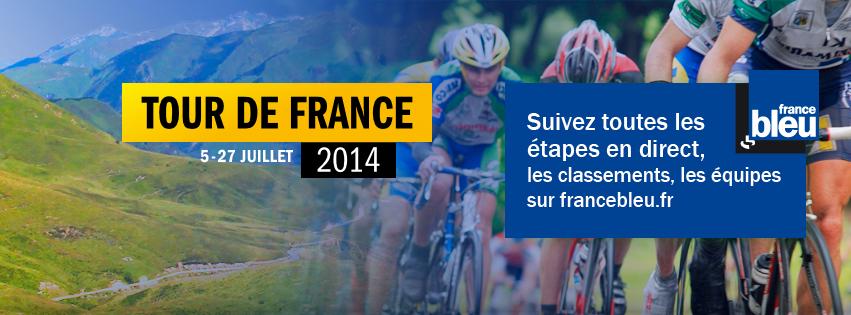 """France Bleu, """"radio officielle"""" du Tour"""