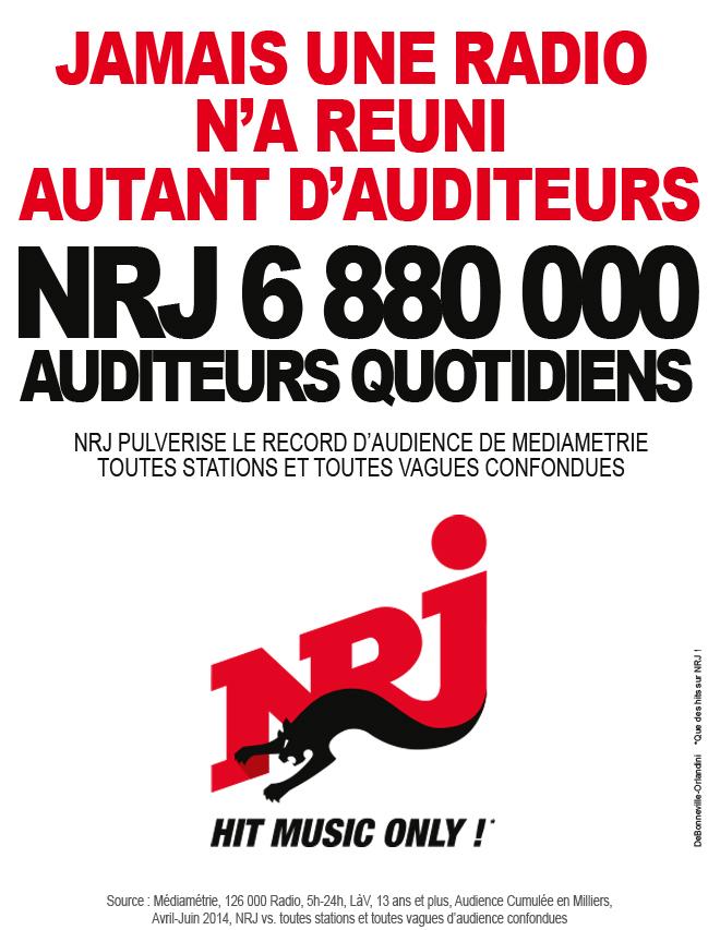"NRJ : ""Objectif 14% dans 2 ans"""