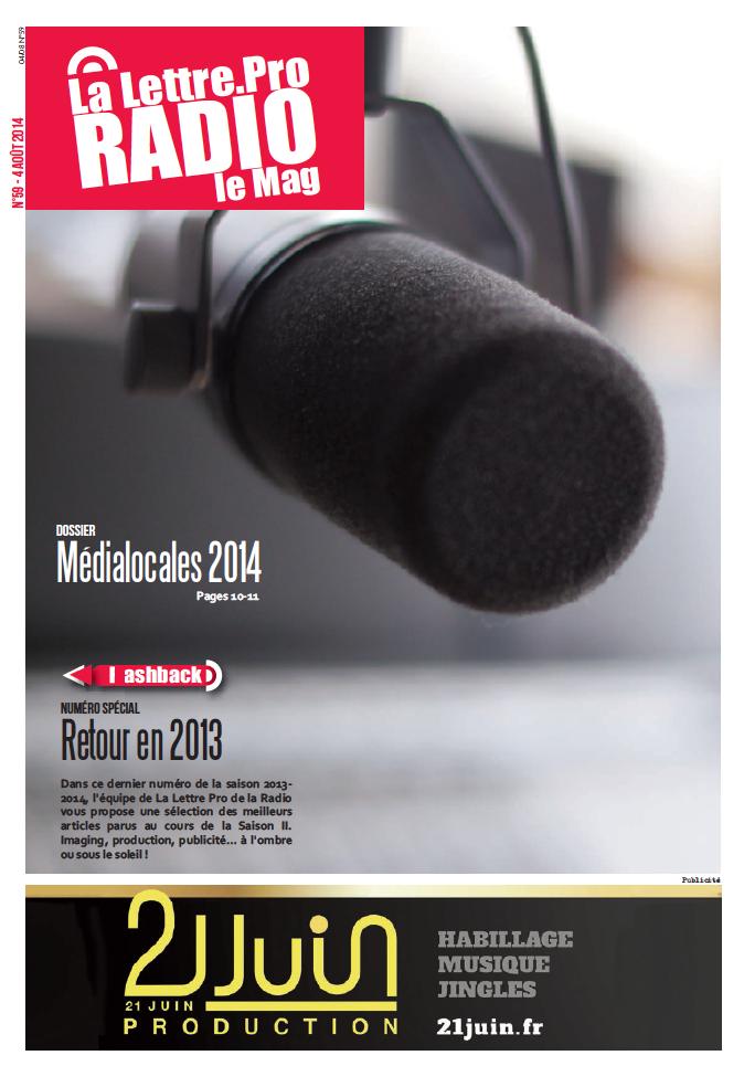 La Lettre Pro de la Radio : découvrez le n° 59