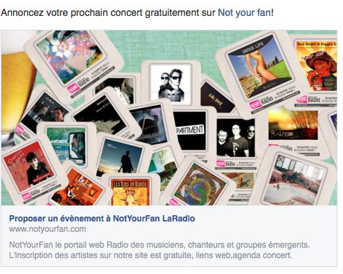 Not your fan : du rock et des nouveautés !