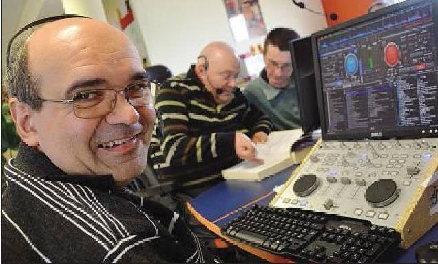 Stéphane, l'un des animateurs de Radio Andalhone
