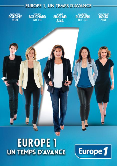"""""""Un temps d'avance"""" pour Europe 1"""