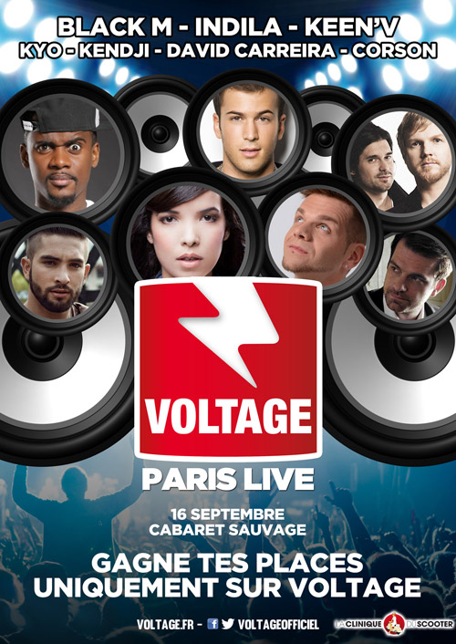Voltage Paris Live par Voltage