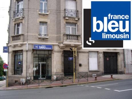 Les locaux de France Bleu Limousin, boulevard Gambetta en centre-ville de Limoges