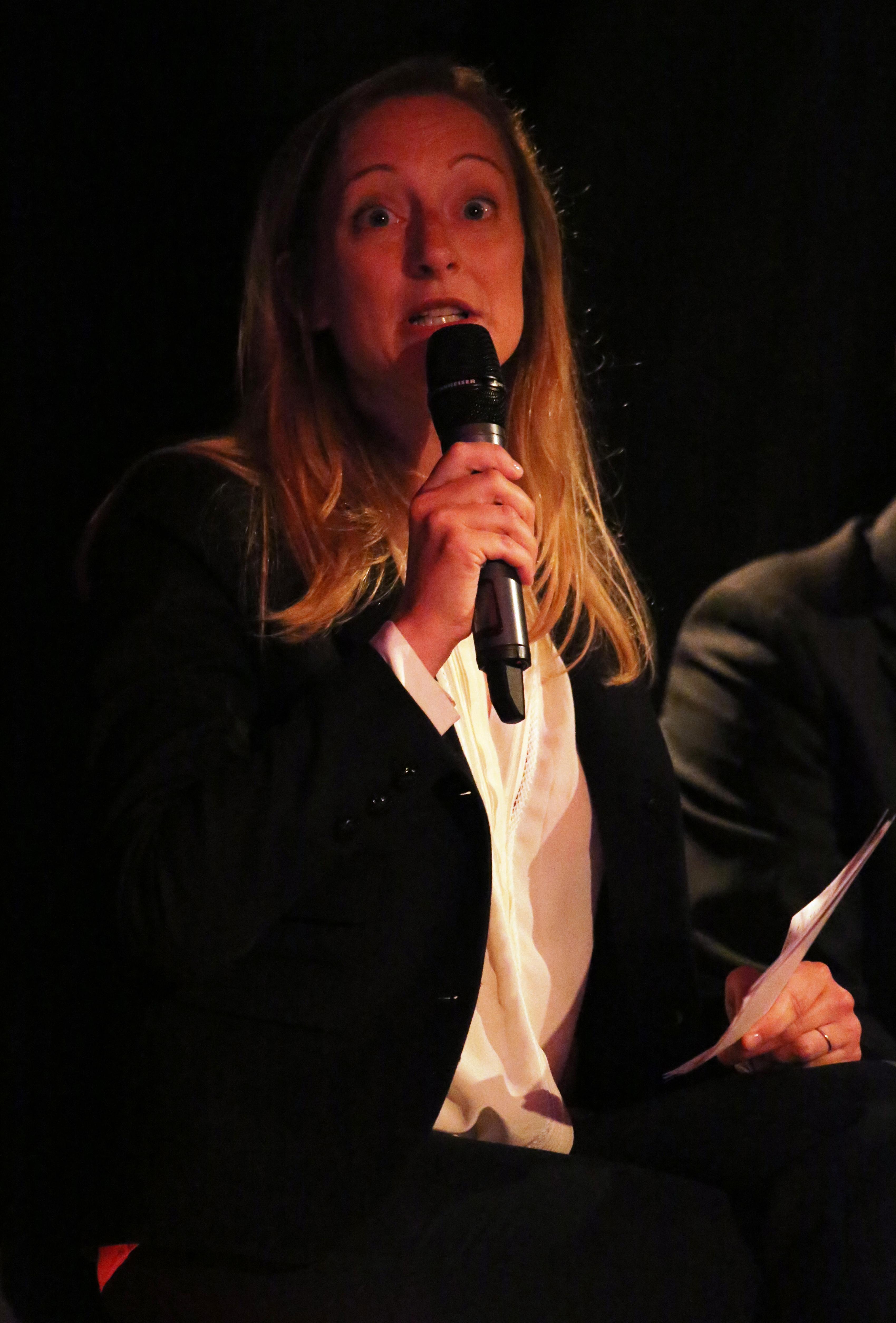 Claire Lénart, éditrice de Radio Classique. Photo © Serge Surpin