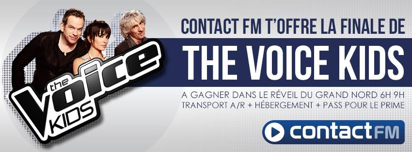 La finale de The Voice Kids avec Contact FM