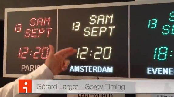 A la bonne heure avec le fabricant français Gorgy Timing