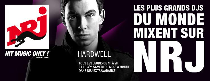 Le DJ Hardwell arrive sur NRJ