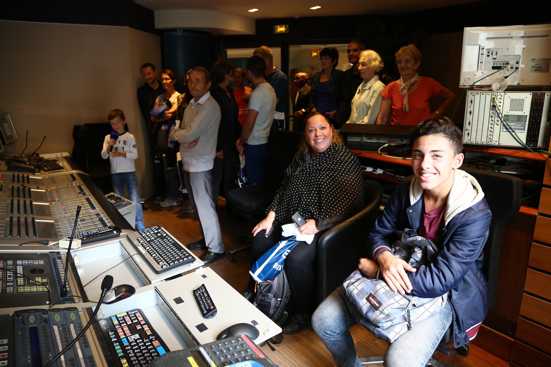 Le public dans les studios d'Europe 1 © Wladimir Simic CAPA - Europe 1