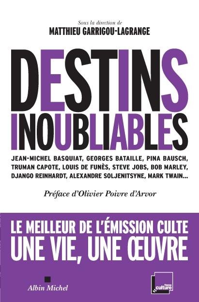 """Parution de """"Destins Inoubliables"""""""