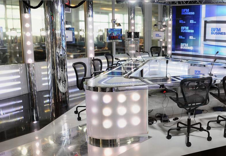 Les équipes de NextRadioTV ont acquis un véritable savoir-faire dans la réalisation de la radio filmée comme ici avec BFM Business