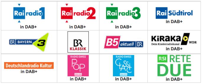 Italie : lancement de 55 stations en DAB+
