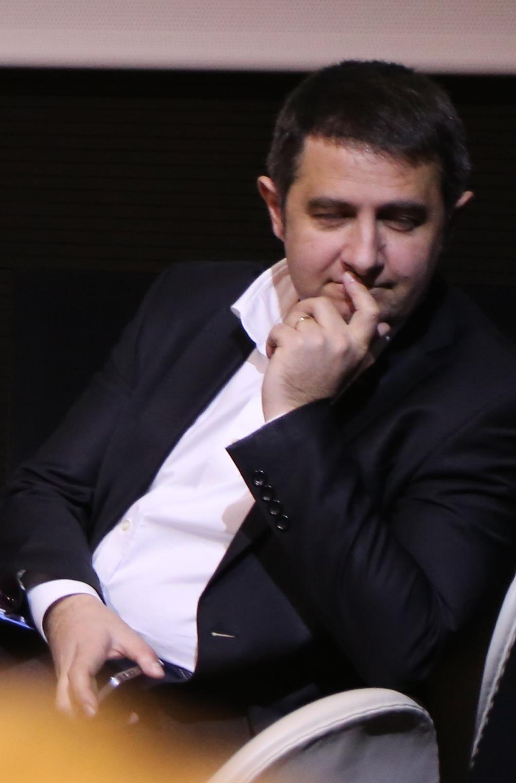 Laurent Guimier, directeur de France Info © Serge Surpin