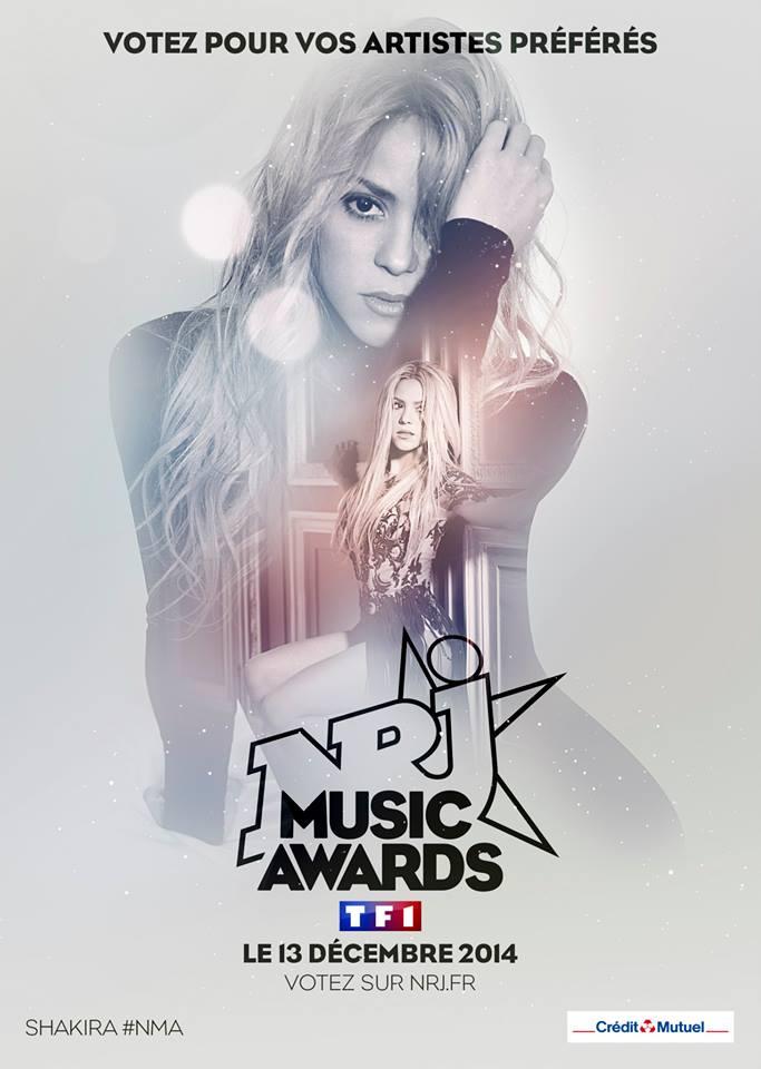 Votes ouverts pour les NRJ Music Awards 2014