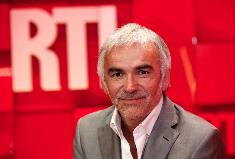 Le Prix du Commentateur sportif 2014 pour Pascal Praud © Abacapress - RTL
