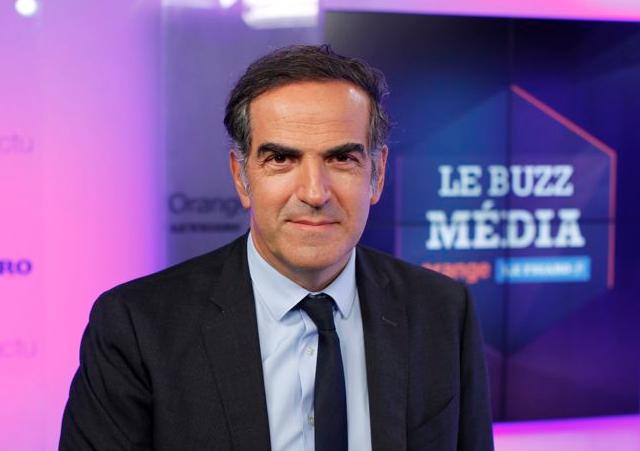 Christopher Baldelli invité du Buzz Média Orange-Le Figaro