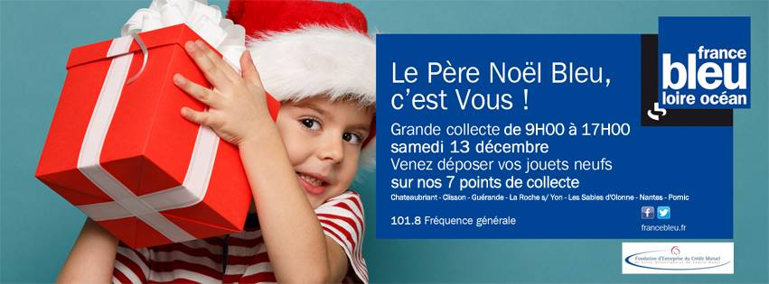 France Bleu Loire Océan lance le Père Noël Bleu