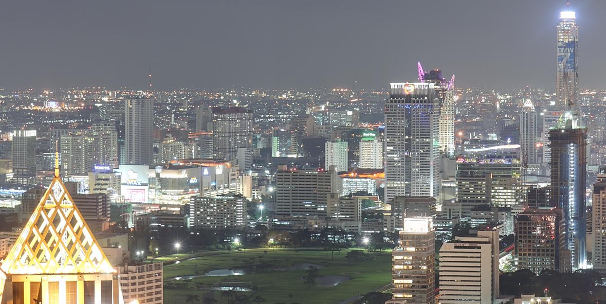 BangKok est la capitale de la Thaïlande où les radios seront bientôt diffusées en DAB+