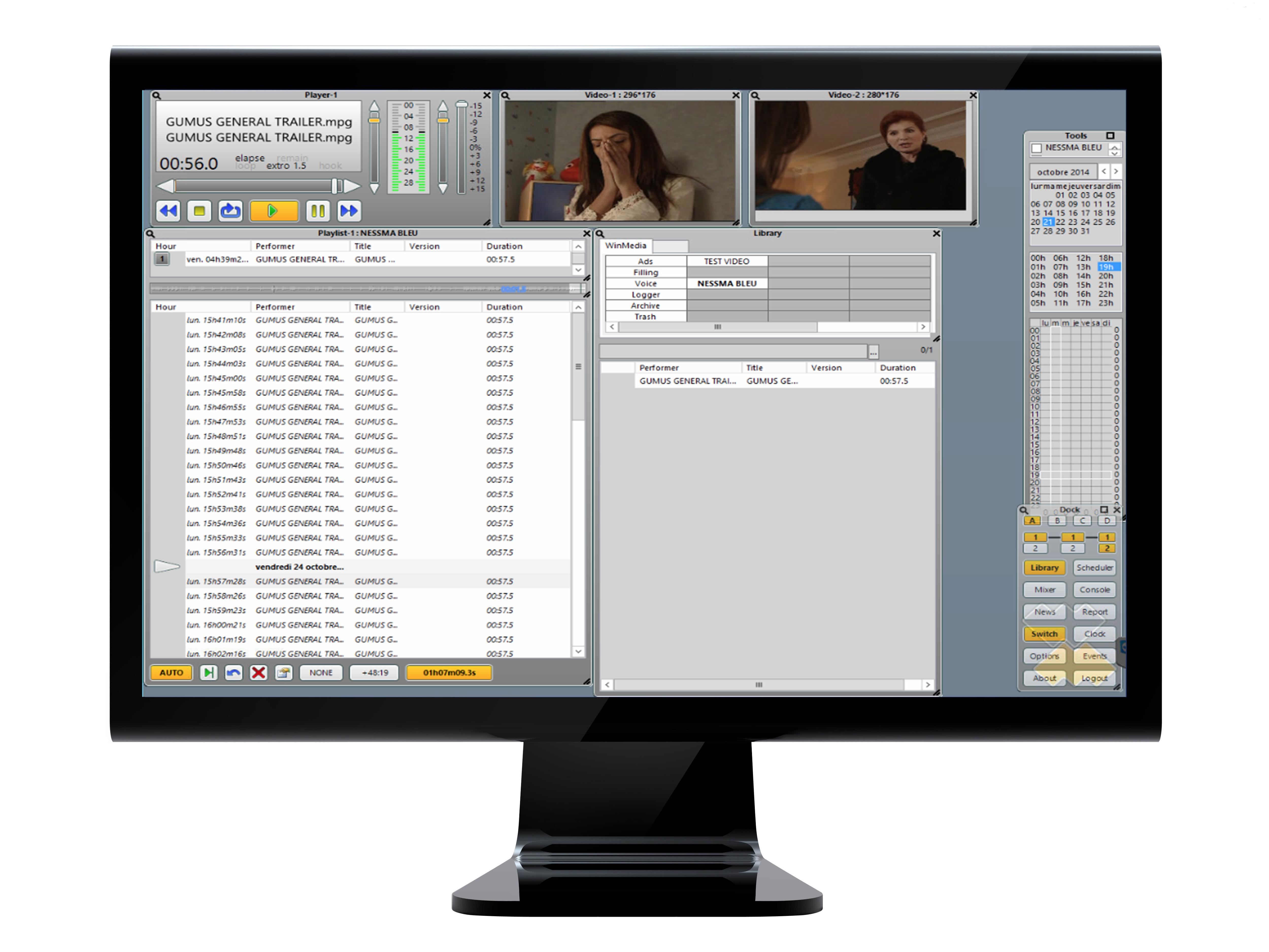 Globecast et WinMedia s'associent pour fournir une solution clé en main