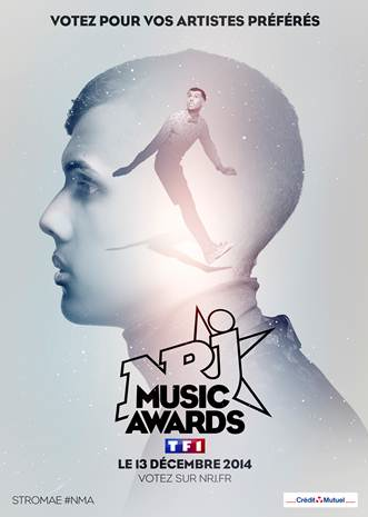 Stromae aux NRJ Music Awards 2014