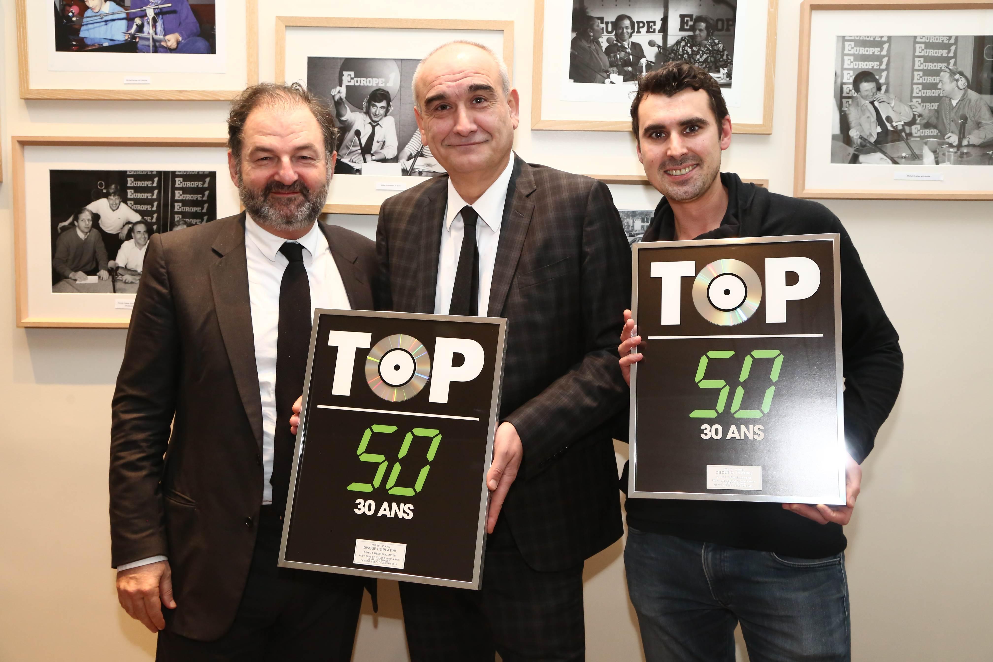 Denis Olivennes, Pascal Nègre et Thomas Joubert © Wladimir Simitc