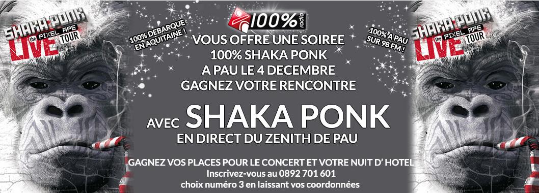 100 % débarque à Pau sur 98 FM