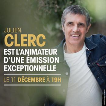 Julien Clerc animateur sur Nostalgie