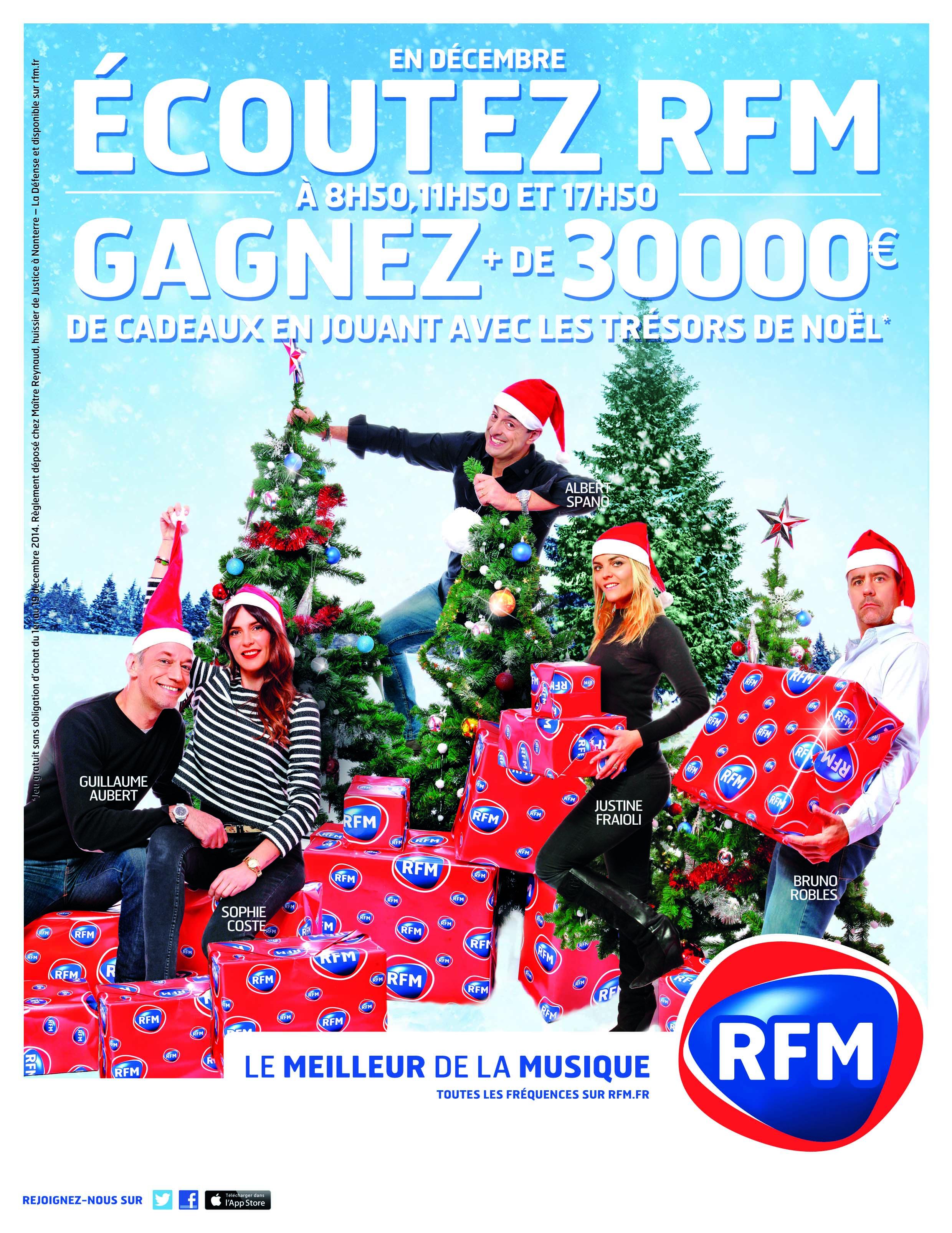 30 000 euros de cadeaux à gagner sur RFM