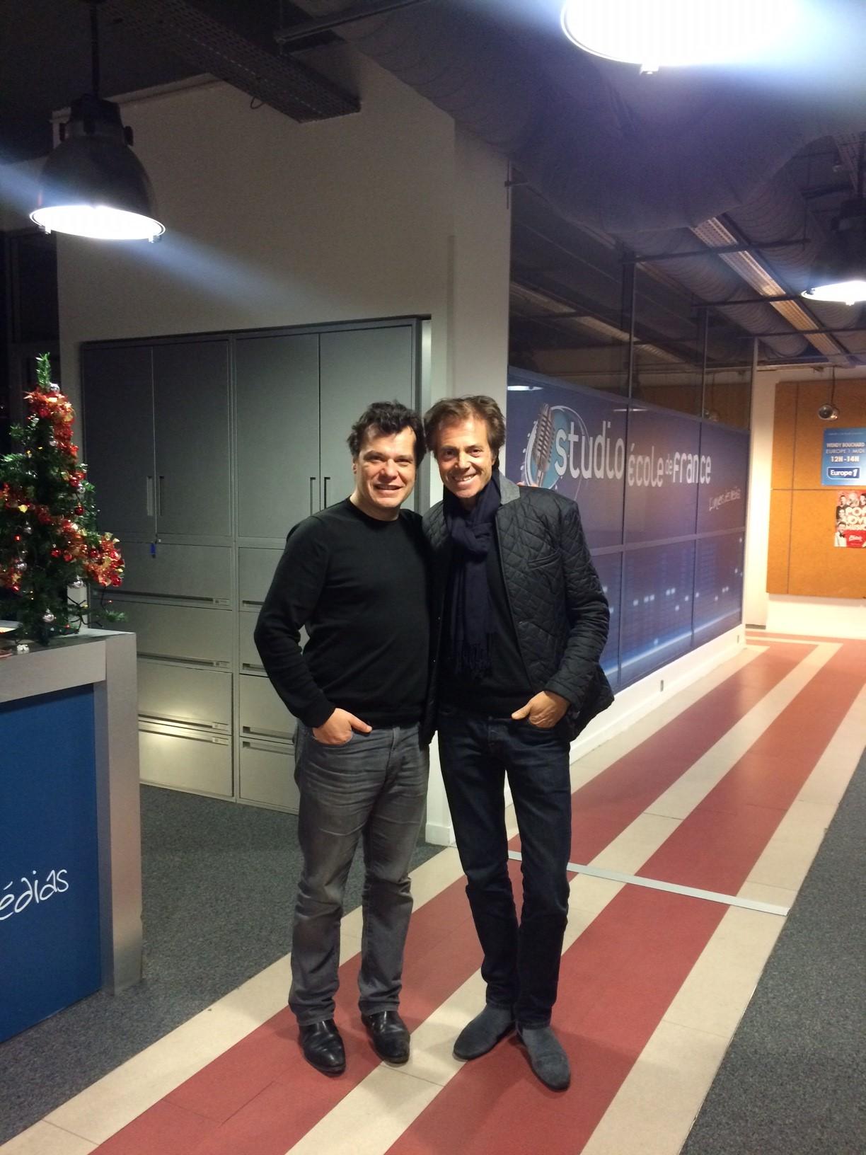 Un rêve de fan: Frédéric Marc a pu refaire la radio pendant une heure avec Marc Scalia himself. A écouter ce soir sur radiofugue.com