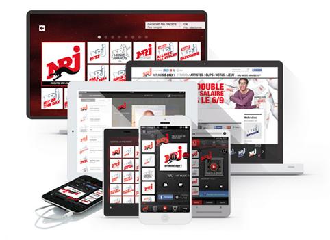 NRJ : première radio sur les supports digitaux