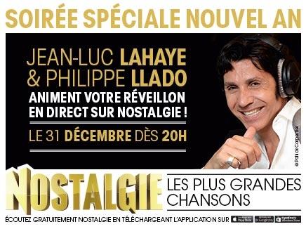 Jean-Luc Lahaye anime le réveillon sur Nostalgie