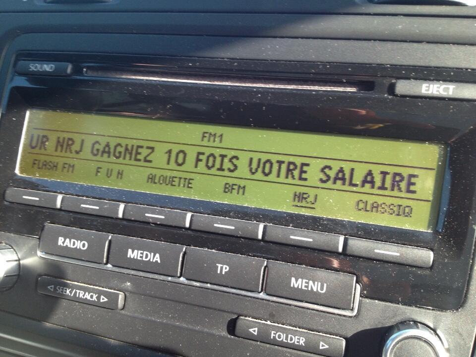 "La radio en voiture ? ""Un vrai cauchemar !"""