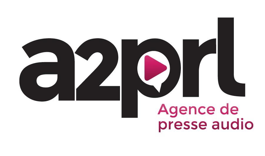 Le nouveau logo de l'agence de presse audio A2prl