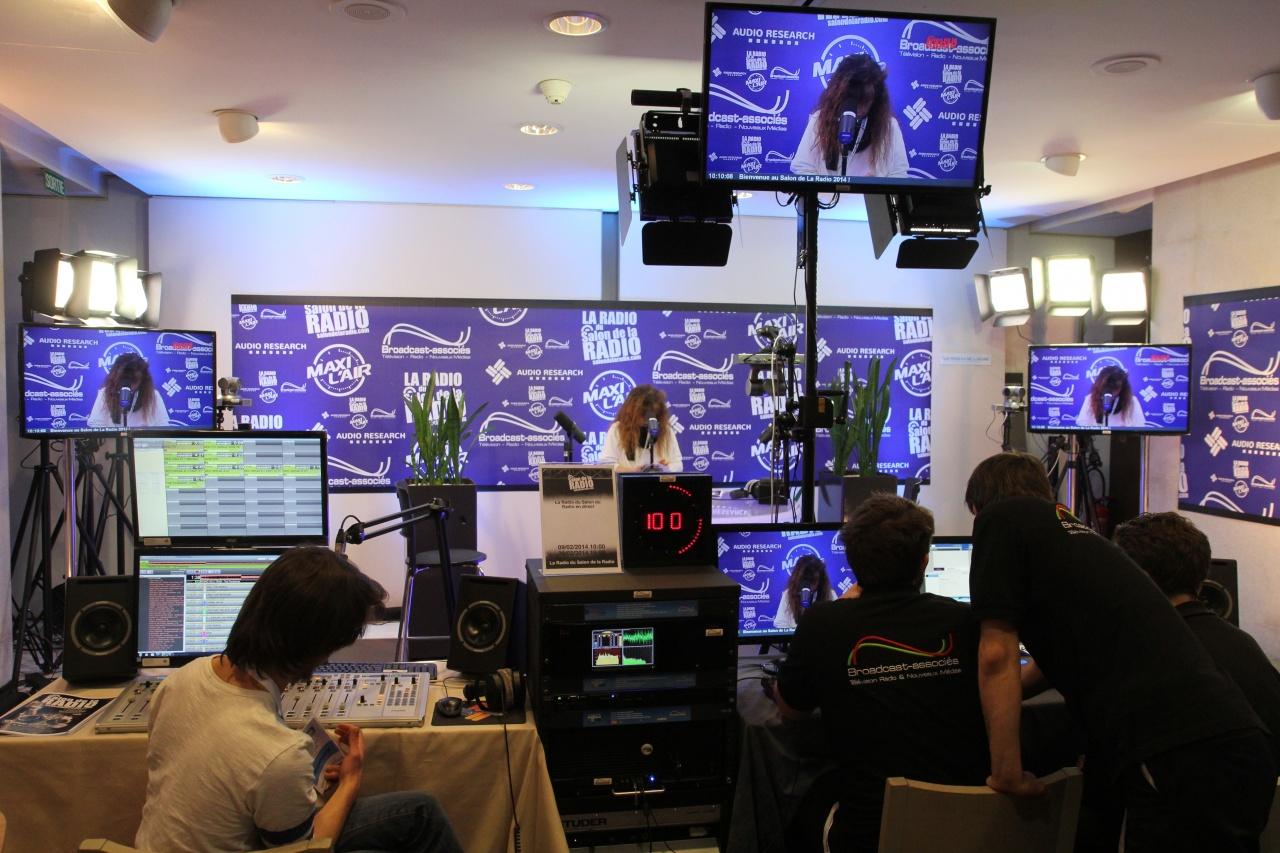 La Radio du salon de la Radio sera installée au centre du Centre Etoile Saint-Honoré