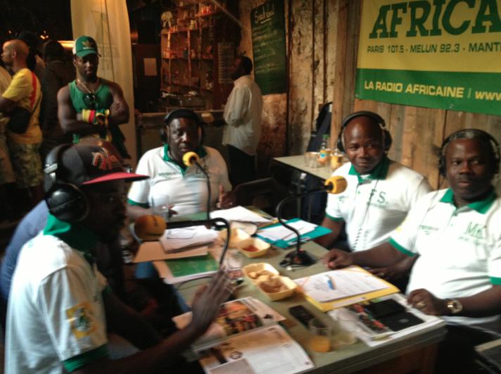Africa n°1 couvre la Coupe d'Afrique des nations