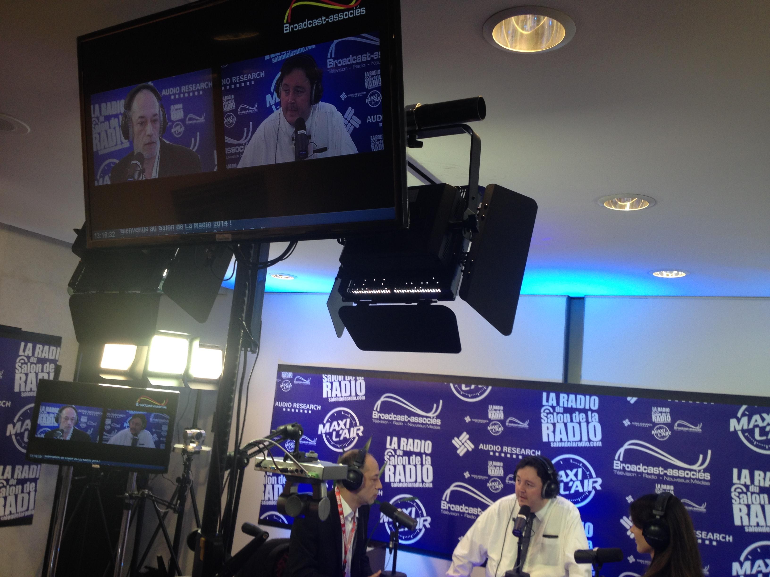 """""""La Radio"""" du Salon de la Radio permettra d'observer le comportement en temps réel de plusieurs nouveautés liées à la Radio Visuelle"""
