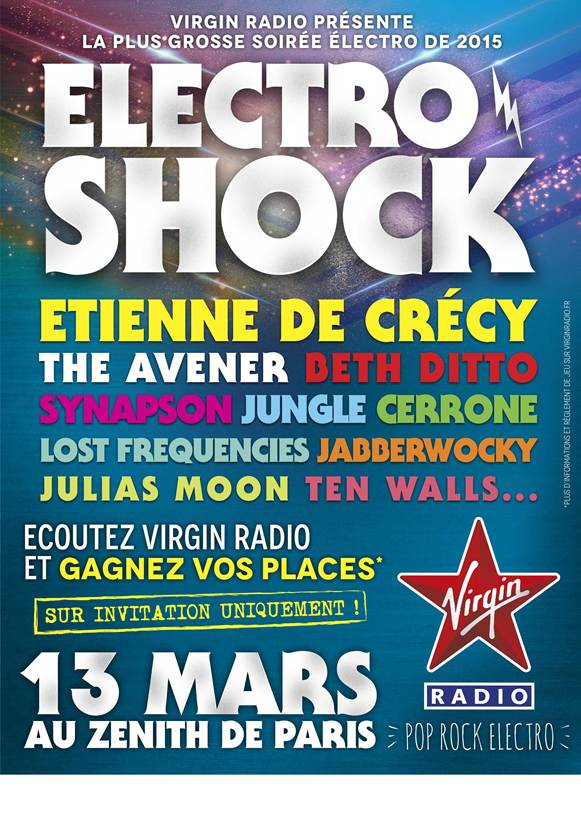 Virgin Radio prépare l'Electro Shock